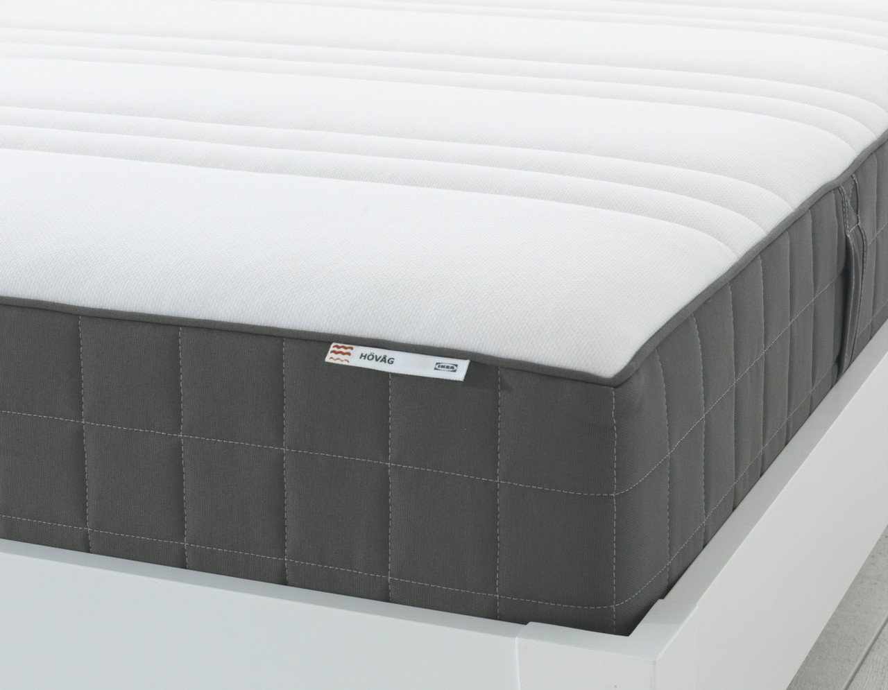 IKEA HÖVÅG獨立筒彈簧床墊(深灰色),原價12,900元、特價8,990...