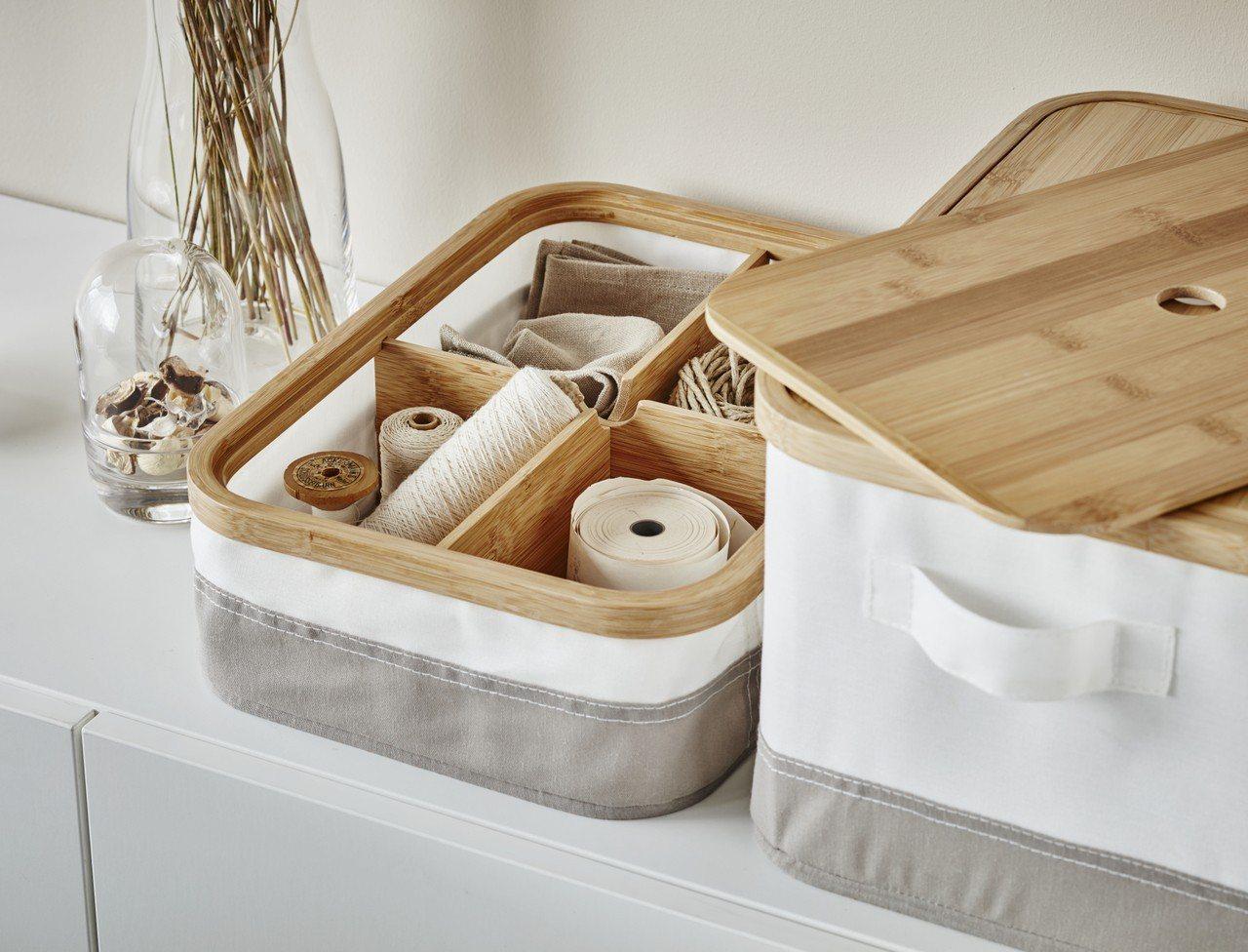 RABBLA附蓋收納盒,售價699元。圖/IKEA提供