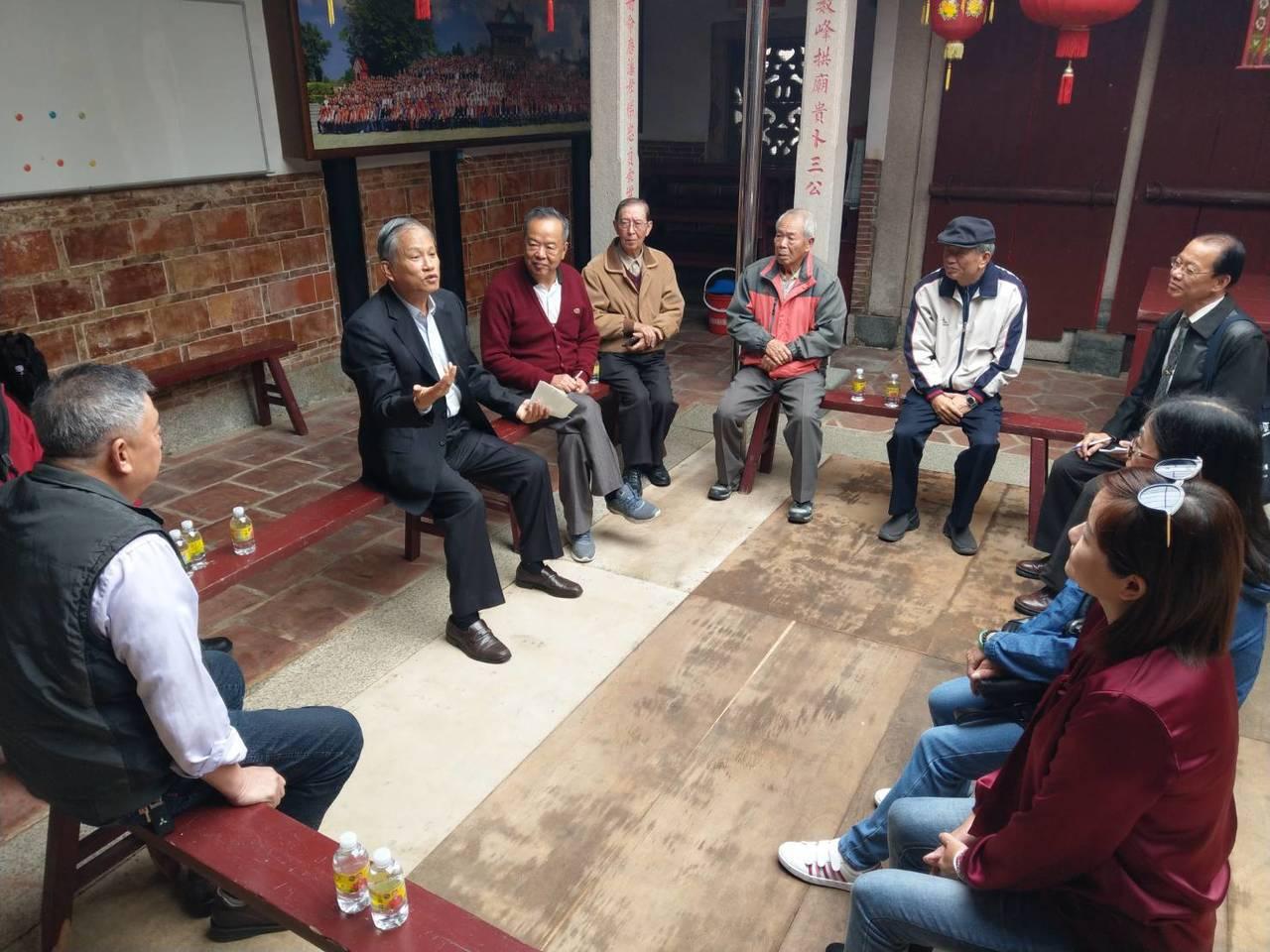 前立法院長王金平將於3月20日在金門成立後援會,今天派國會辦公室顧問、退役將軍陳...