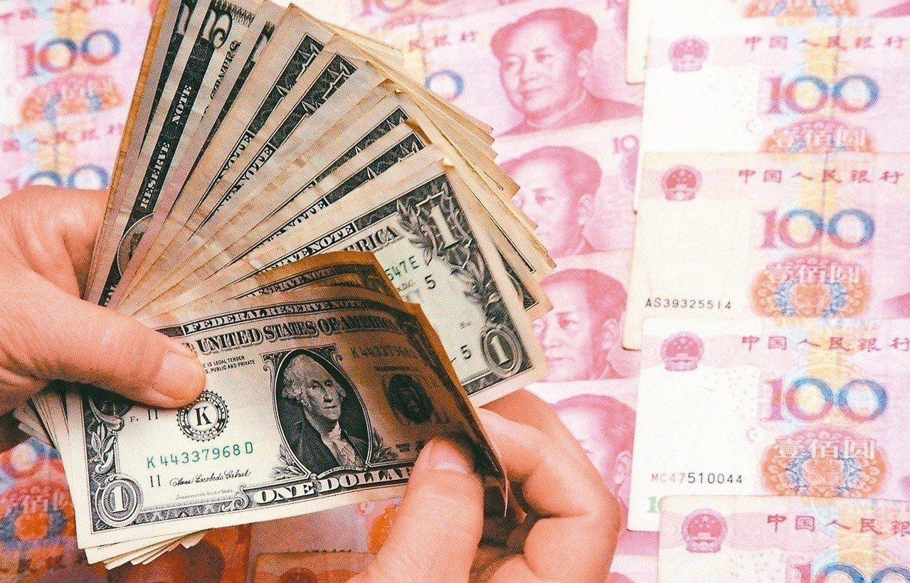 今年以來陸股大漲,人民幣升幅卻未跟上股市漲幅 新華社