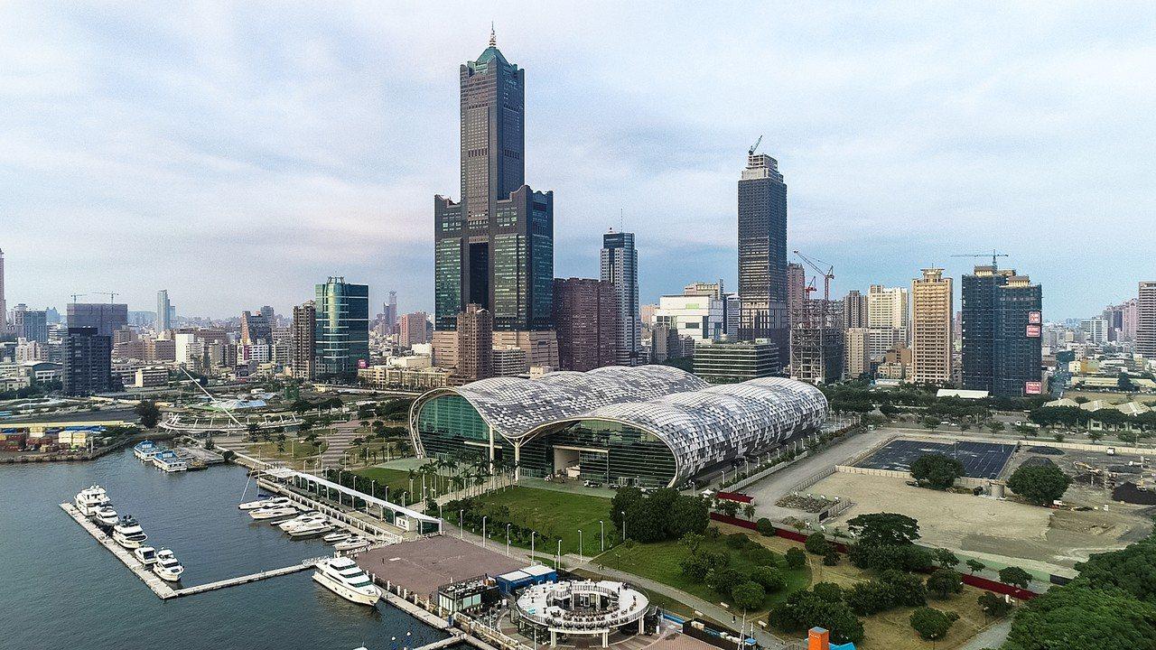 海霸王企業集團以54億多元標下高市85大樓。 聯合報系資料照/記者王騰毅攝影