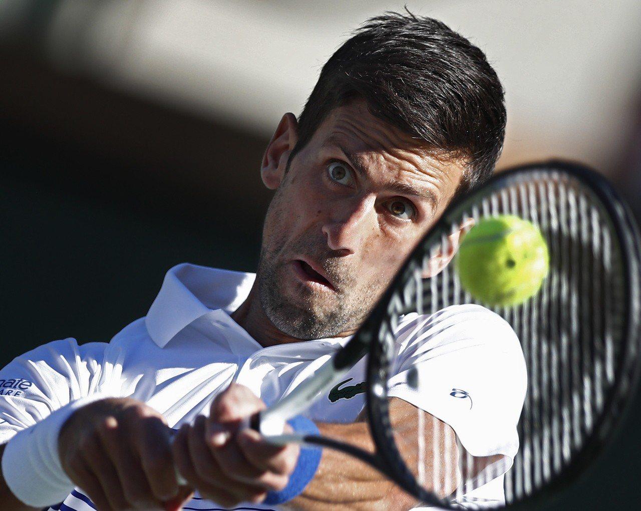 塞爾維亞「世界球王」約克維奇(Novak Djokovic)。 歐新社