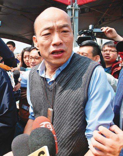高雄市長韓國瑜日前針對媒體人黃光芹遭網友恐嚇一事,呼籲要理性、勿出惡言,並支持黃...