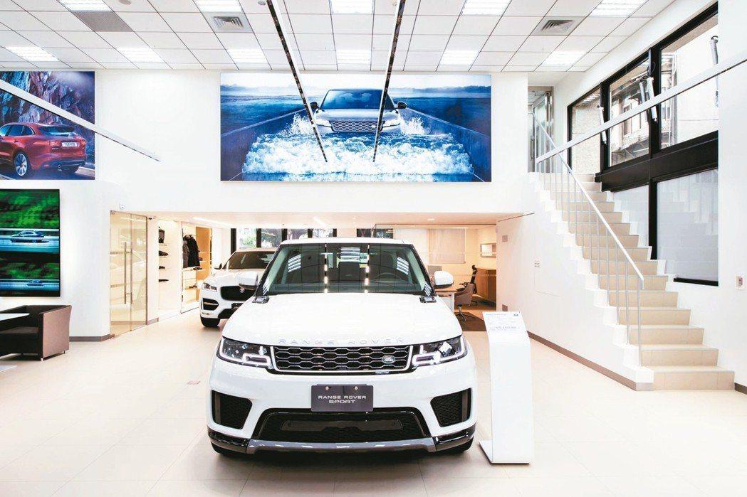依循Jaguar Land Rover原廠全球標準打造的全新展示中心。 圖/台灣...