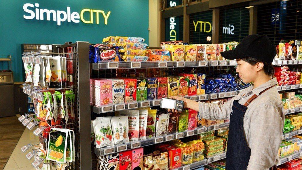 超市美廉社化身超商「美廉城超」。 圖/三商家購提供