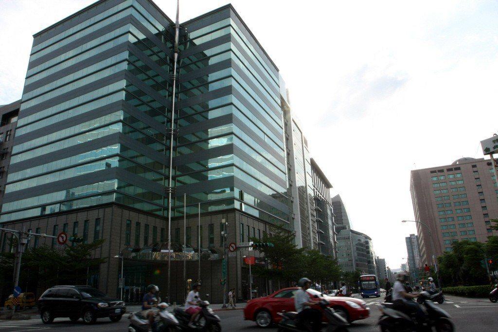 台北內湖科技園區域街景。本報系資料照/記者徐兆玄攝影
