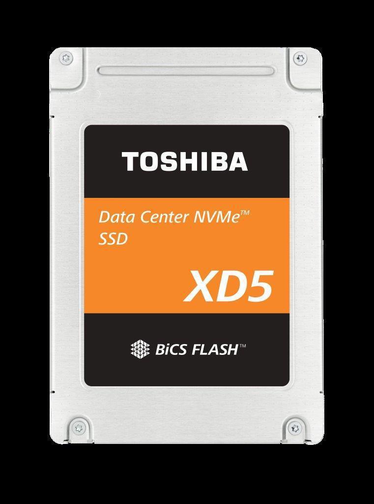 東芝記憶體推出高效能XD5系列SSD 2.5英寸外型規格。 業者/提供