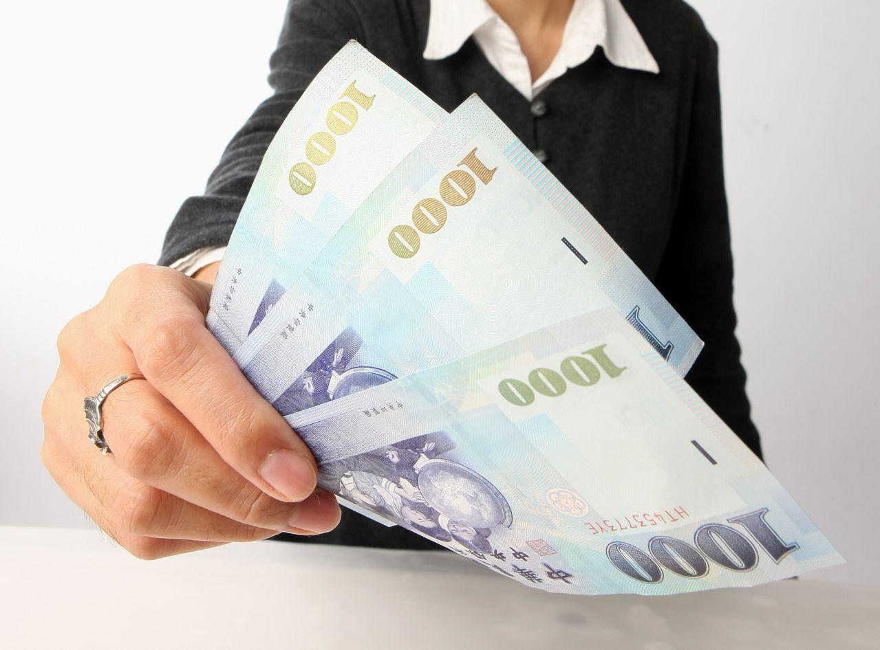 新台幣兌美元連3日走升。 圖/聯合報系資料照片
