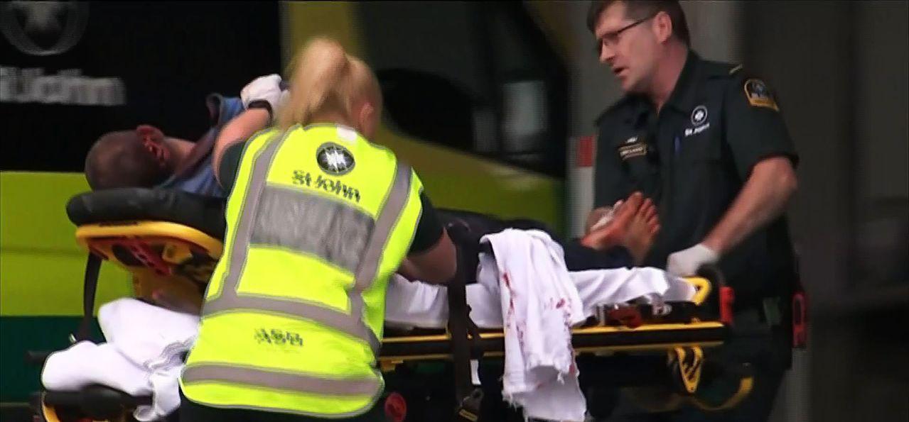 紐西蘭南島基督城發生血腥恐攻造成49人喪生。 法新社