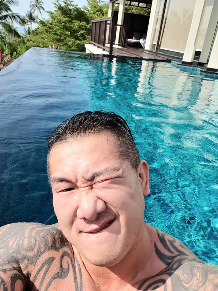 館長豪灑250萬去泰國員工旅遊。圖擷自Facebook
