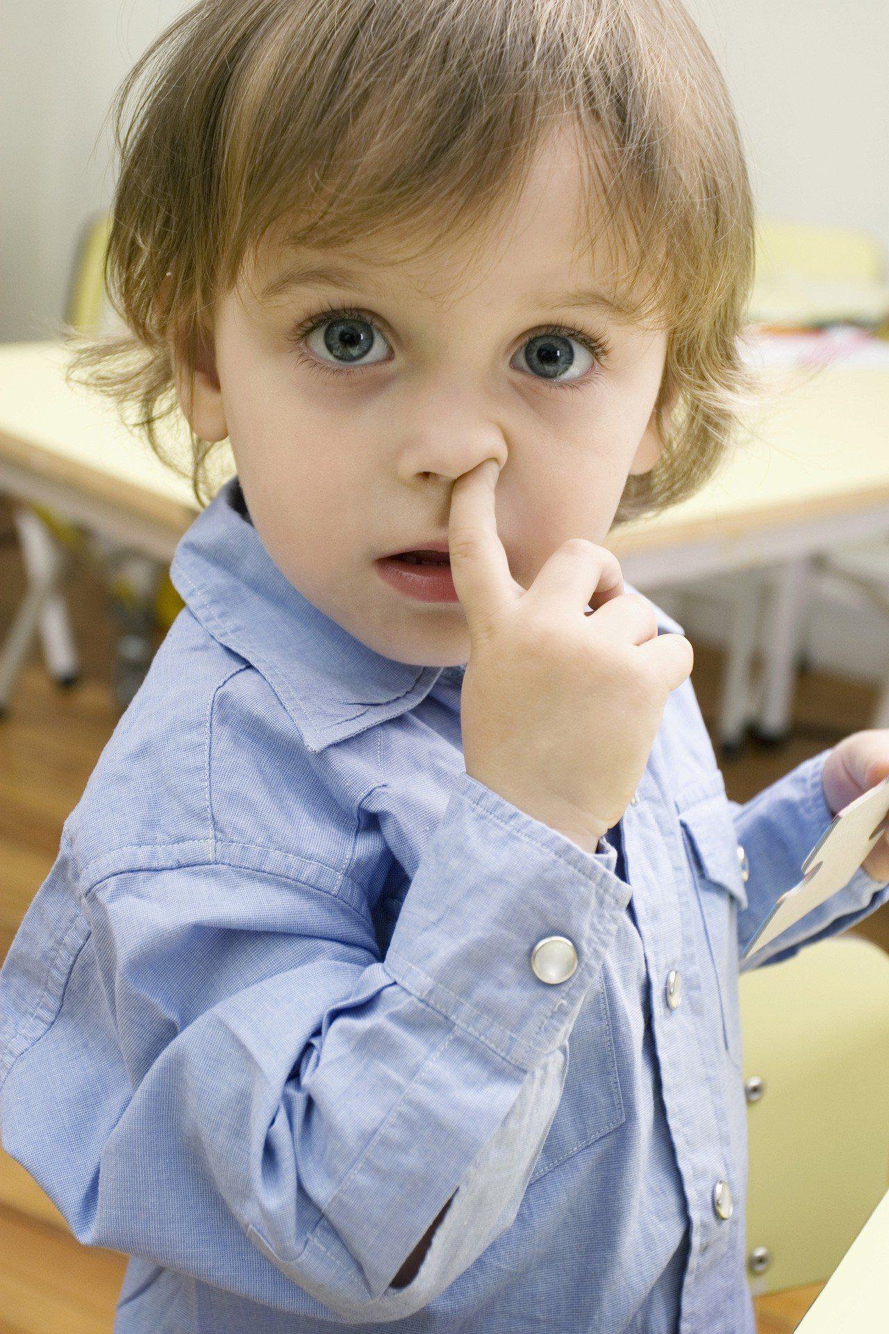 美國皮膚科醫師認為,若想改善過敏,增加免疫力,吃鼻屎是一個訓練免疫系統的方式。圖...