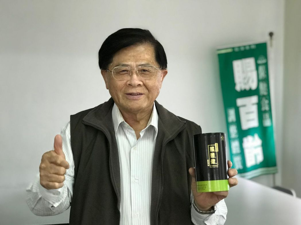 南寶生技總經理胡坤鳳,看好賜體健食品行銷大陸市場。 莊玉隆/攝影