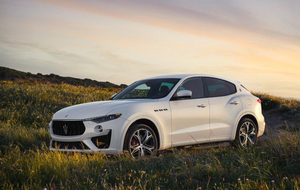 全新Levante GTS即日起正式上市,建議售價768萬起。 圖/Maserati Taiwan提供