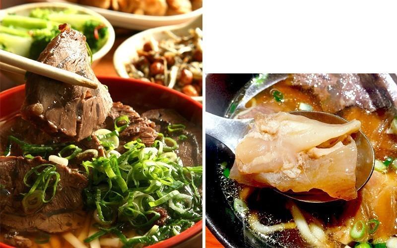 圖/林東芳牛肉麵。記者陳嘉寧 攝影、網友兩隻小豬授權