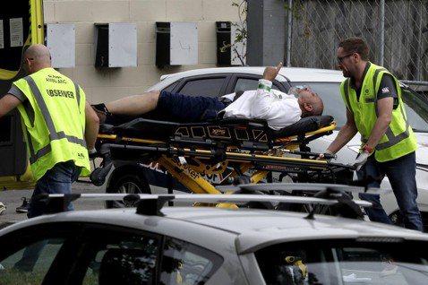 紐西蘭基督城(Christchurch)15日爆發大規模槍擊事件,當地兩座清真寺...