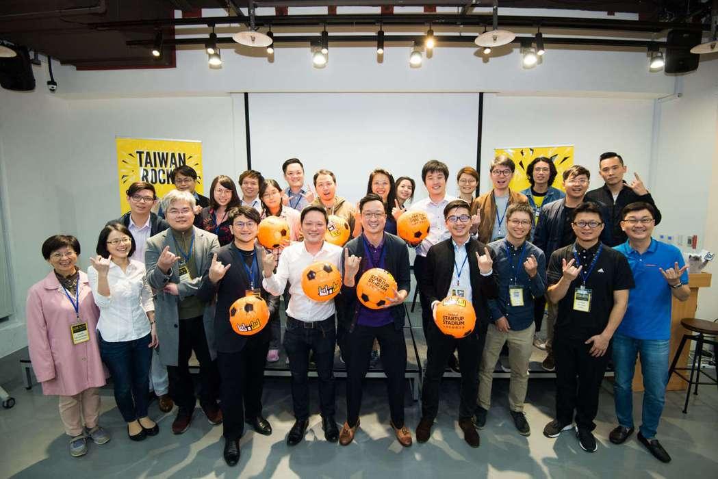 2018 TSS投資條件書訓練營台北場講者與全體新創團隊。 台灣新創競技場/提供