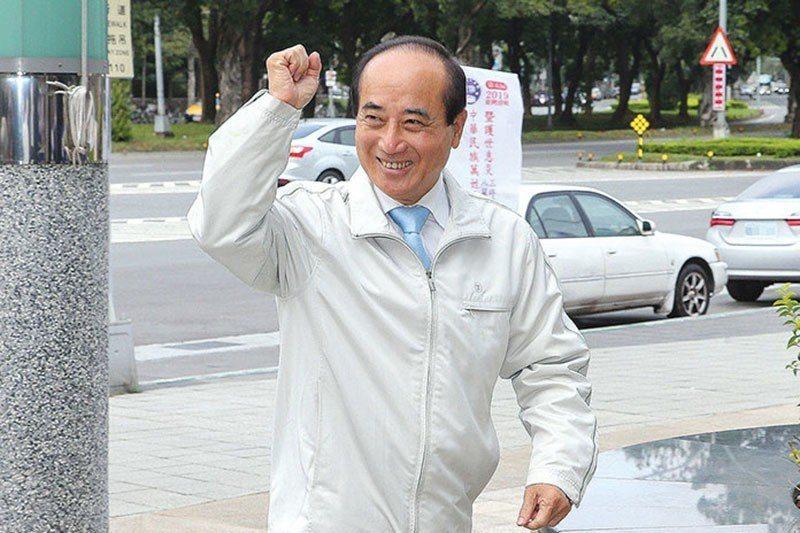 王金平在此次大選扮演吃重角色。 編輯部、台中市議員陳成添與謝明源
