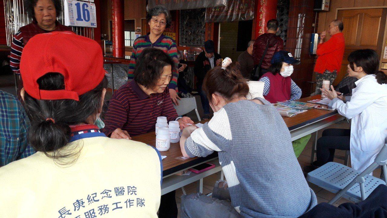 為守護社區民眾健康,林口長庚紀念醫院自8年前開始附近鄰里合作舉辦「社區健康守護站...