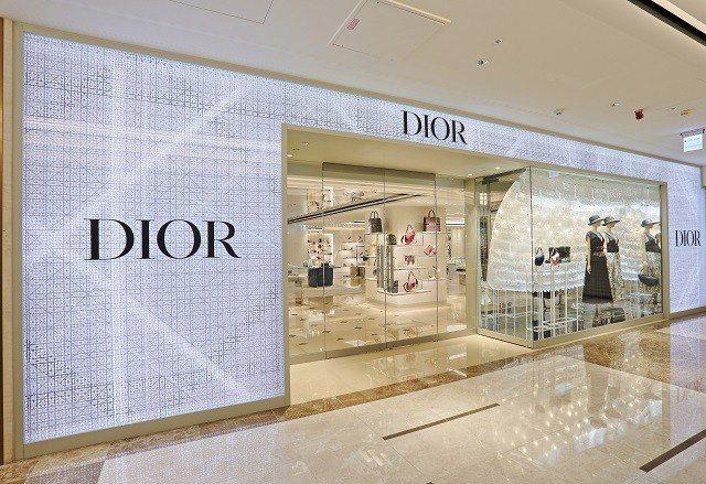 Dior在漢神百貨開設全新概念店,Dior men男裝專賣店首度登陸高雄。圖/漢...