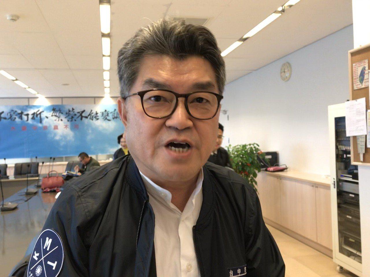 台中市長盧秀燕的「空汙、總統交管」發言引起討論,國民黨議員李中說,總統安全要維護...