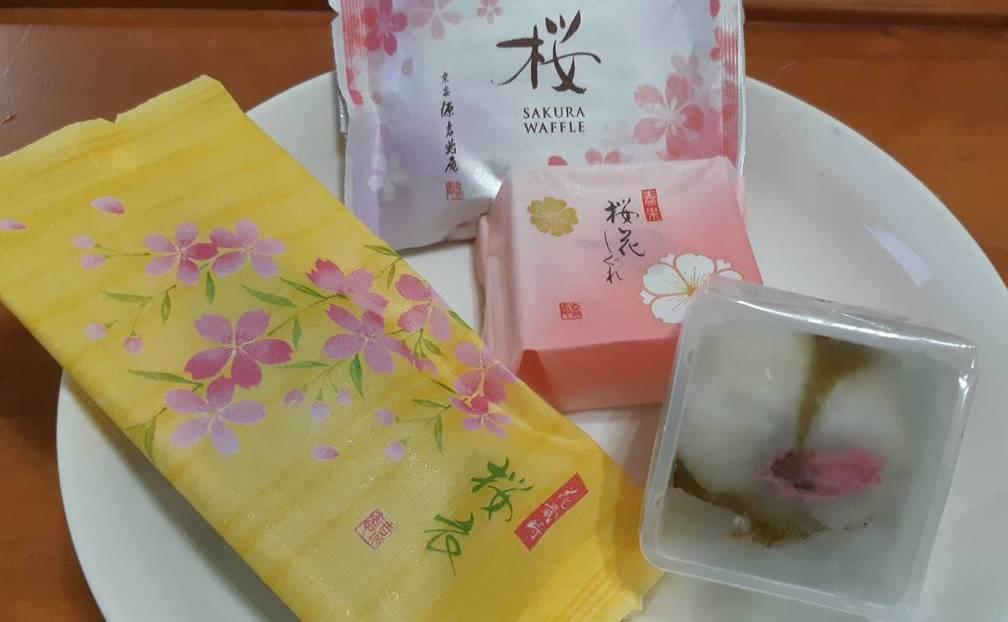 「源吉兆庵」春季的櫻花系甜點,從品名就很美麗。記者 柯意如/攝影