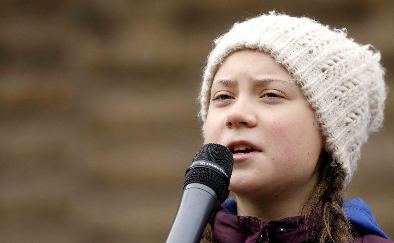 3月15日全球學生發動大罷課,要求「大人」為氣候變遷採取實際行動,領導這波運動的...