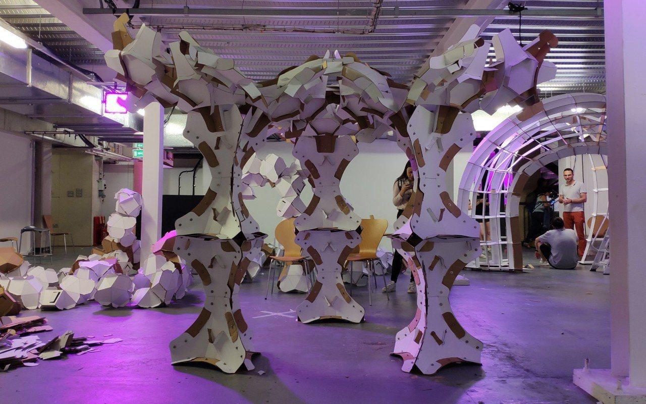 國立聯合大學建築學系助理教授吳細顏領軍的師生團隊,以設計作品The Orchid...