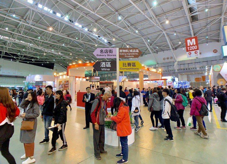 原訂於2020年3月12日到15日舉辦的台北國際烘焙暨設備展,因新冠肺炎疫情影響,延至7月30日至8月2日開展。 聯合報系資料照/記者張芳瑜攝影