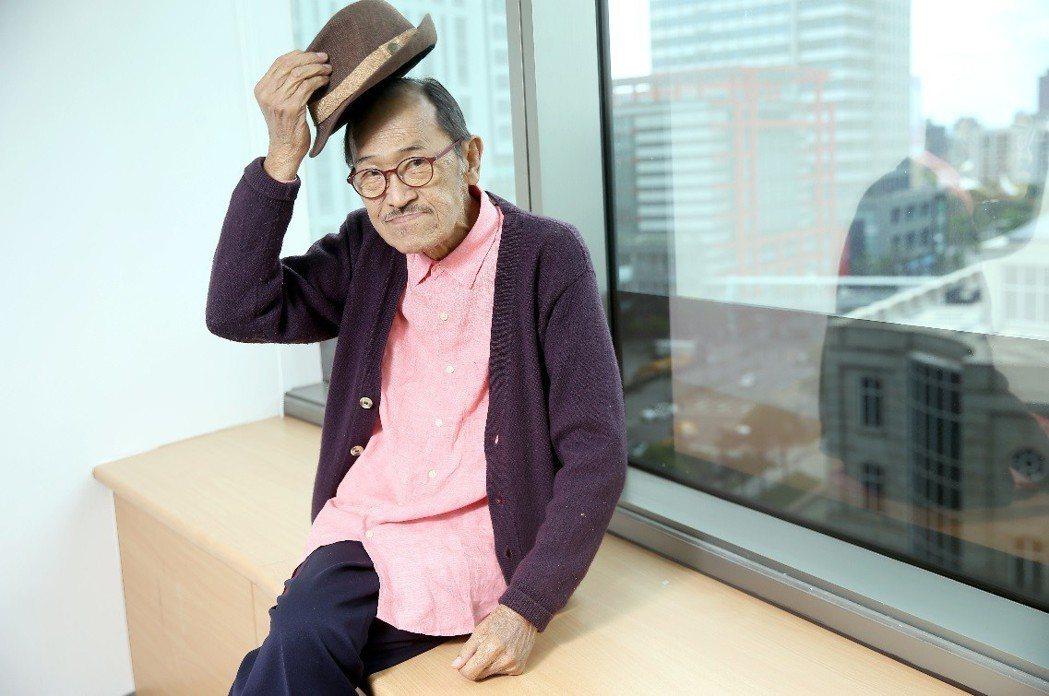 小戽斗見證過台灣影視業的高峰與低潮,資歷極深。記者余承翰/攝影
