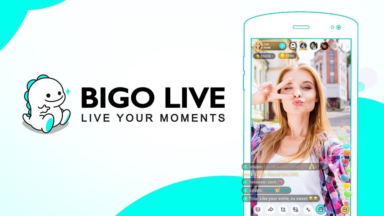 中國科技公司Bigo旗下的Like和Bigo Live及字節跳動的Helo和抖音...