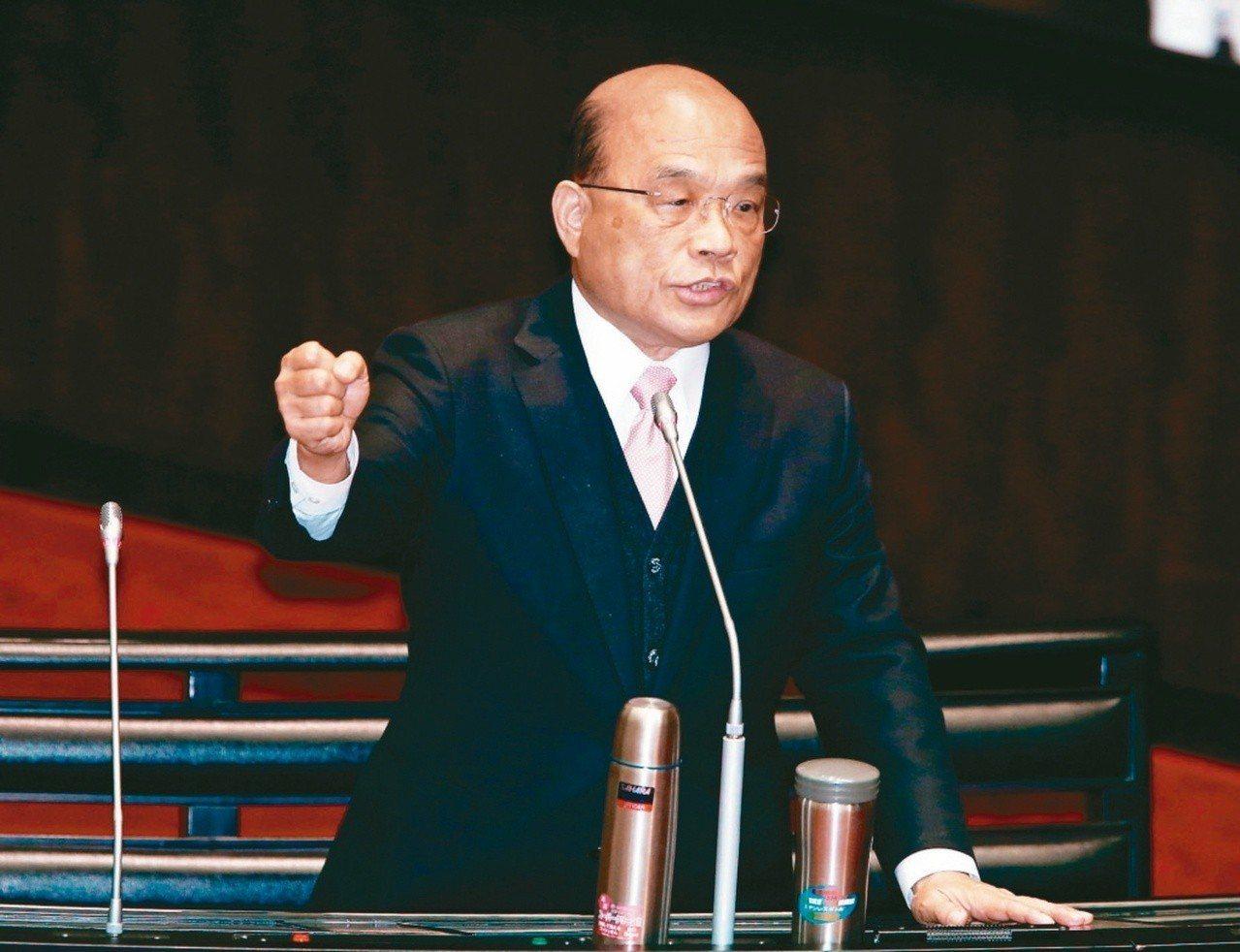 繼行政院前院長賴清德說「民進黨現在就只剩一口氣」,接任的院長蘇貞昌也說,民進黨現...