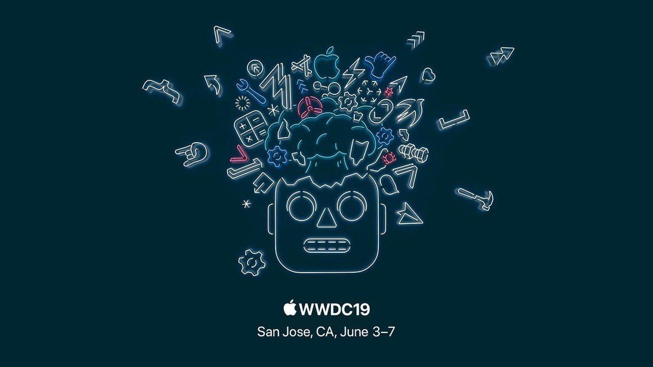 蘋果2019年WWDC邀請函。 蘋果官網