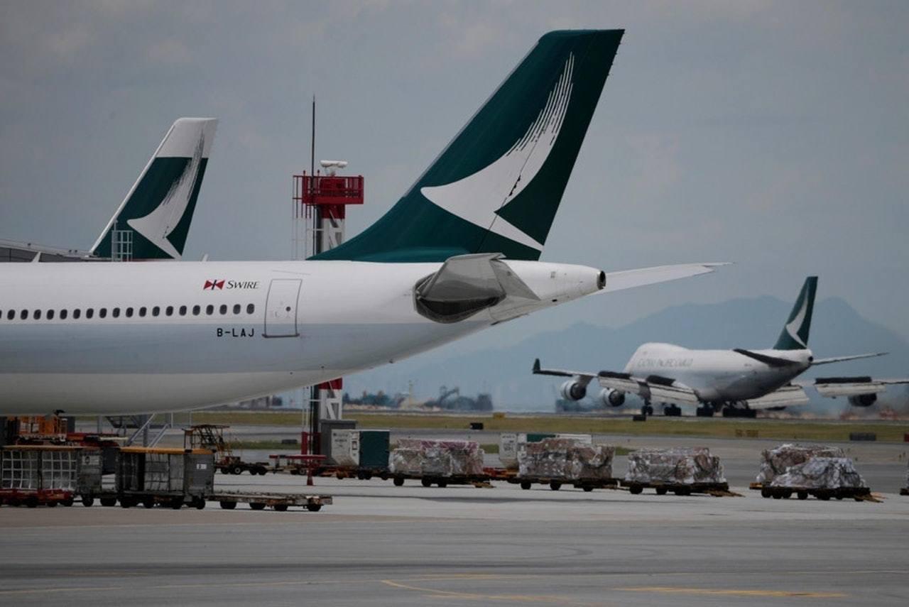 國泰一名空少於本月初在往返東京航班上當值後,回港後確診麻疹。(香港01資料圖片)