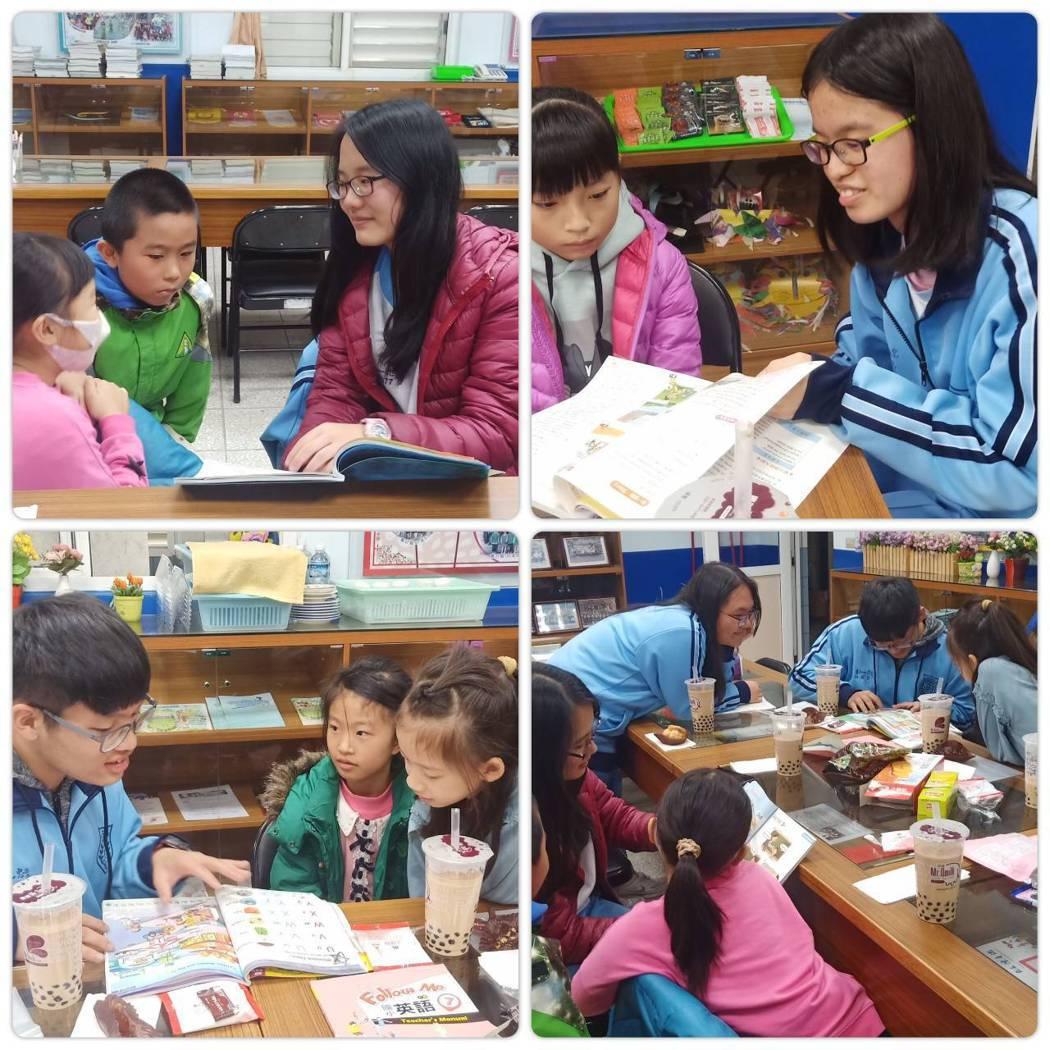「偏鄉英文教育計畫」由11所台北市高校生,義務協助小學生每週40分鐘視訊英語課程...