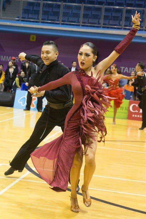 蔡明修/劉亭君。 中華民國體育運動舞蹈總會提供