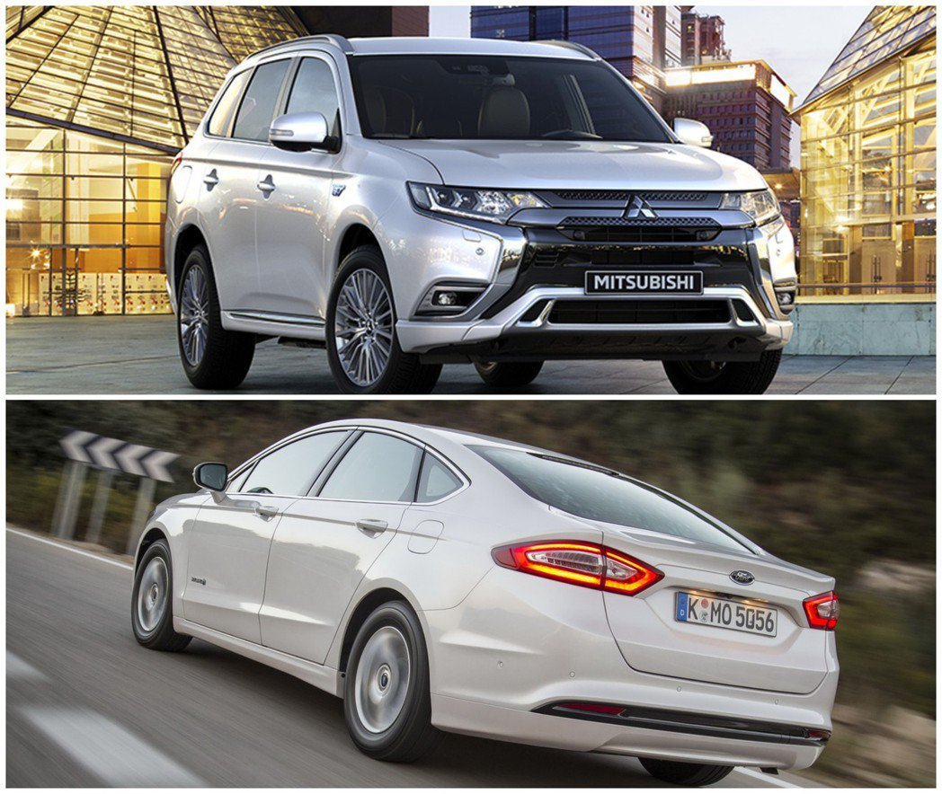 曾短暫出現在國內市場的Mitsubishi Oultander PHEV與For...
