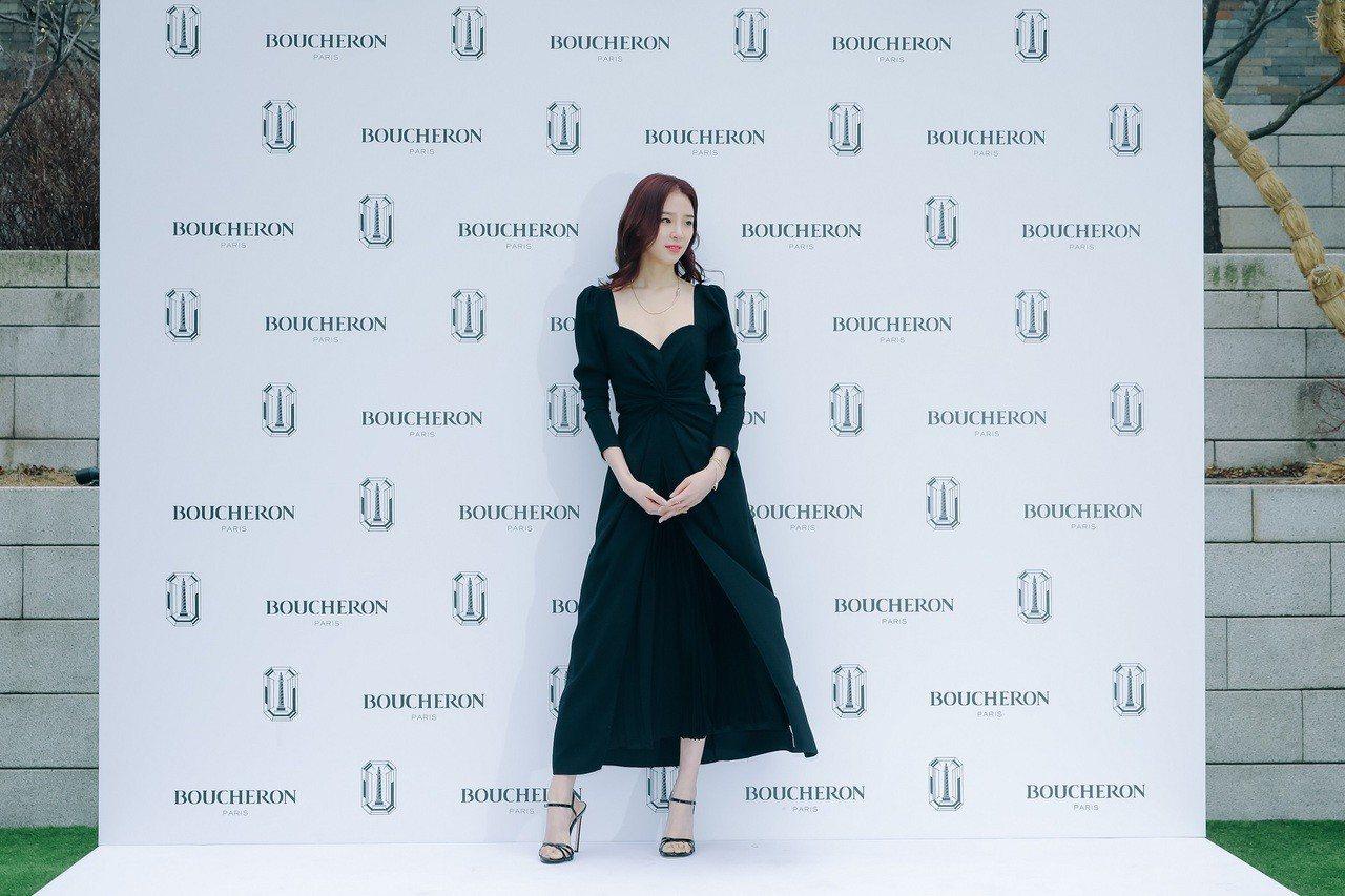 時尚網紅Irene Kim出席寶詩龍首爾活動混搭Jack系列珠寶與Quatre新...