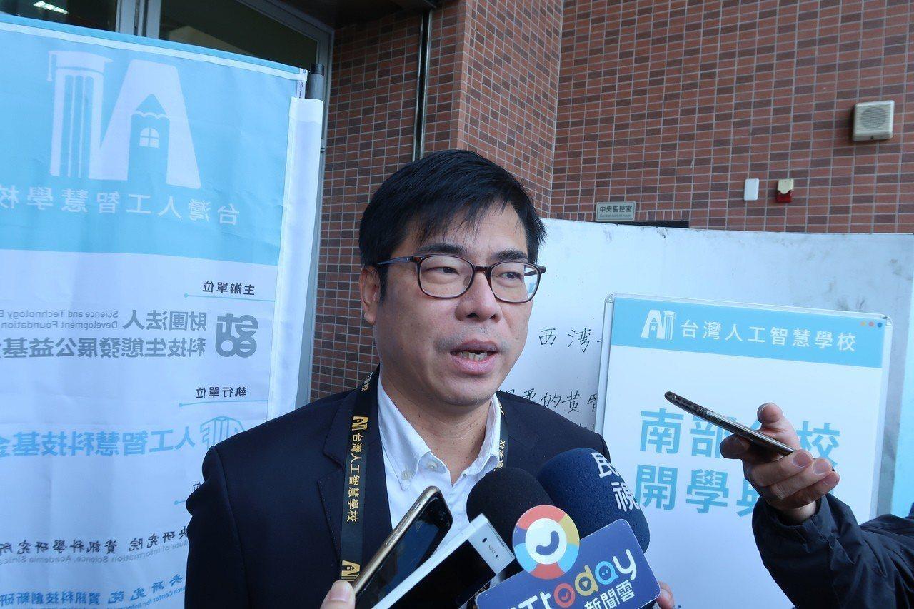 行政院副院長陳其邁表示,傳播正確的訊息是政府基於公共利益應該做的事情。記者徐如宜...