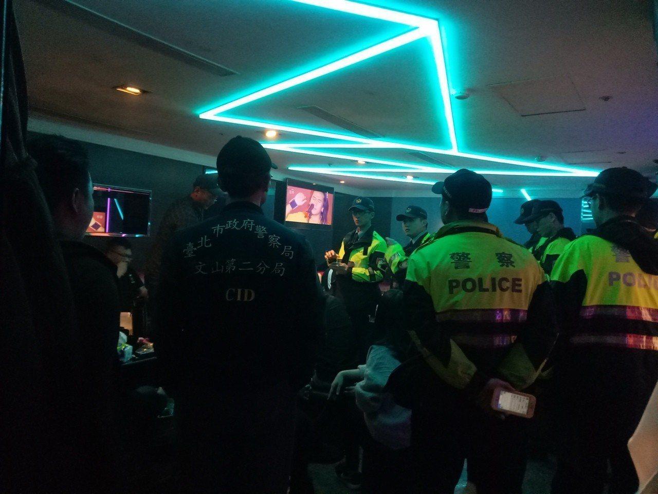 為防制幫派聚眾鬥毆、暴力事件破壞社會秩序,台北市警方3月12起發動為期3日的掃黑...