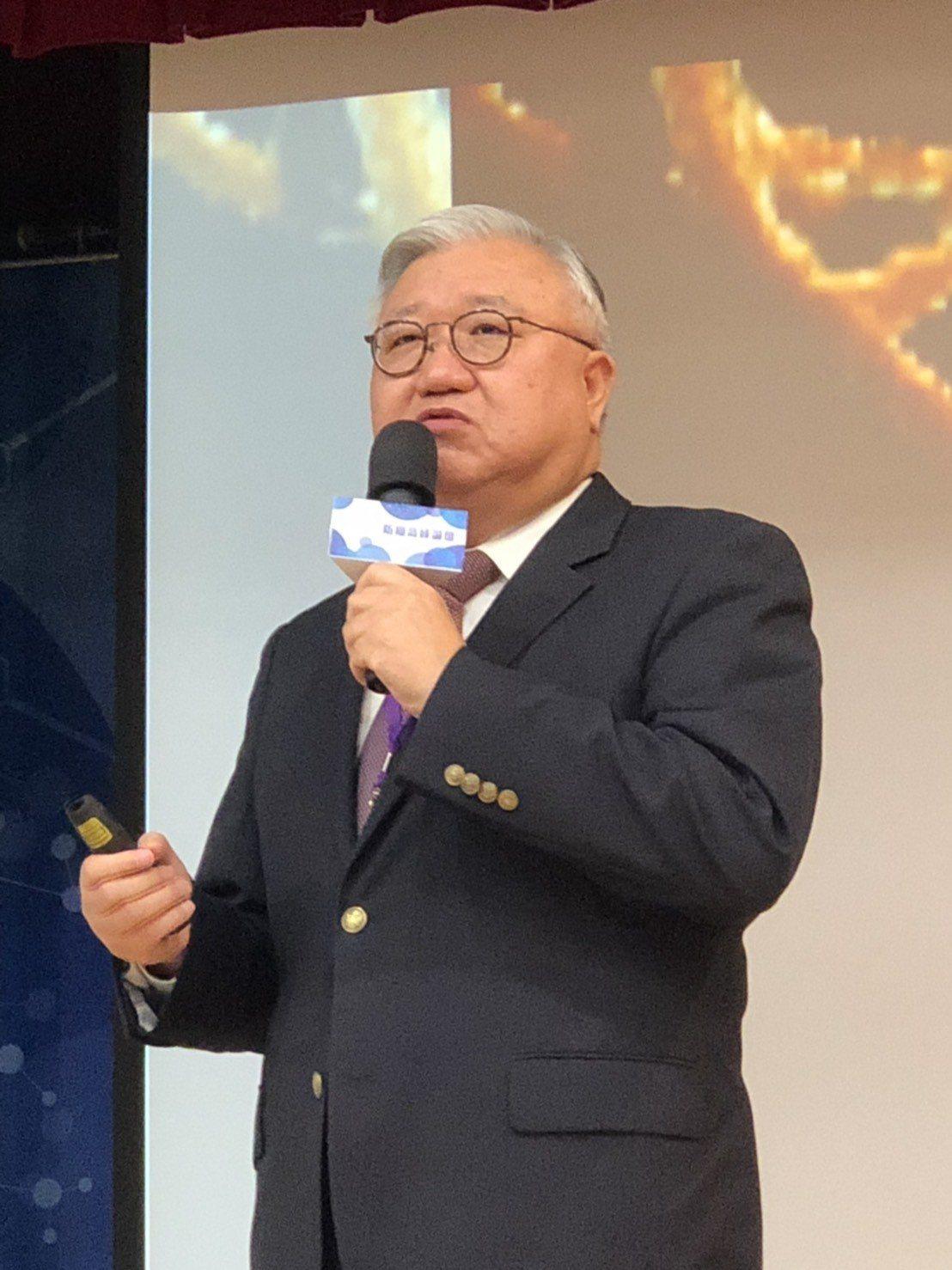 中華民國癌症醫學會理事長閻雲。記者林俊良/攝影