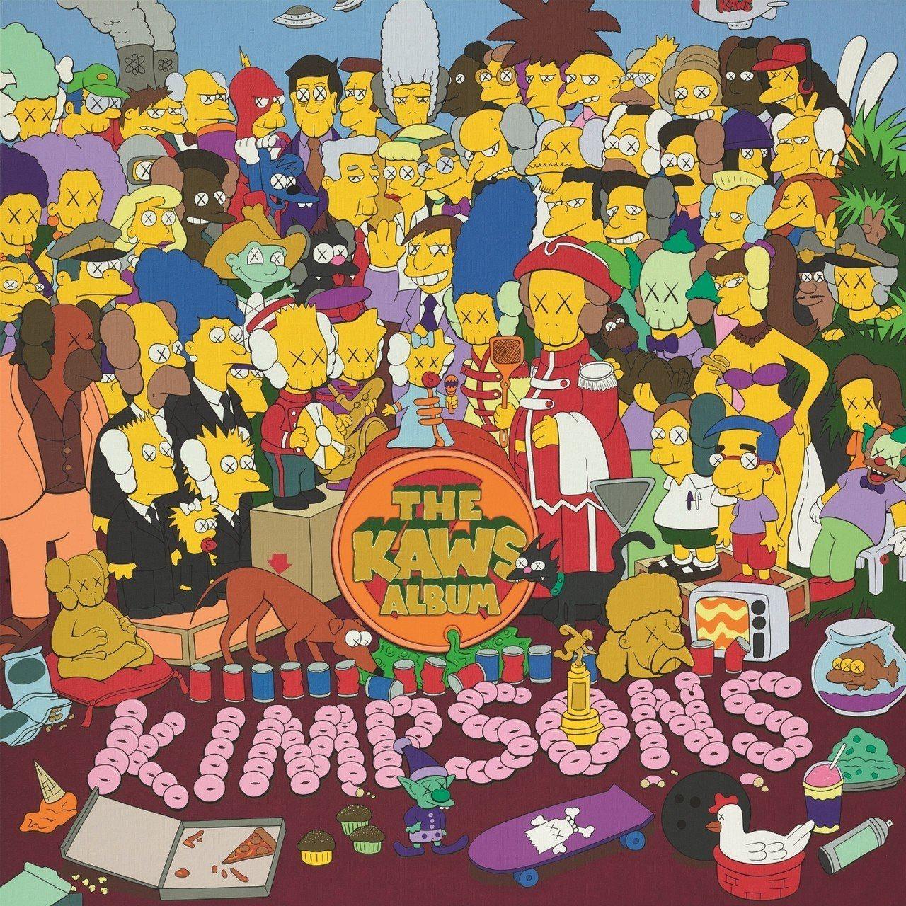 日本潮流教父 NIGO®委託 KAWS 創作之《THE KAWS ALBUM》,...