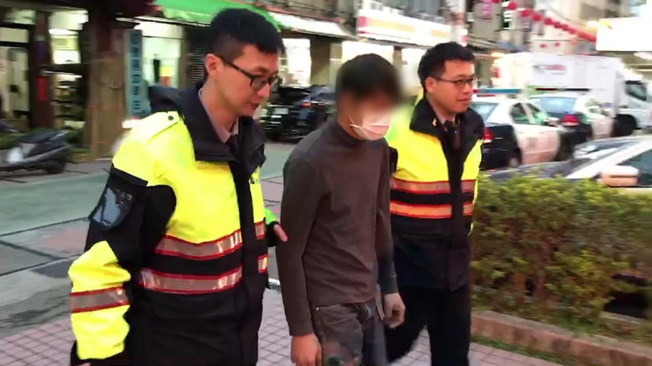 警方經過1個星期追查,終於將涉案男子逮捕。記者巫鴻瑋/翻攝