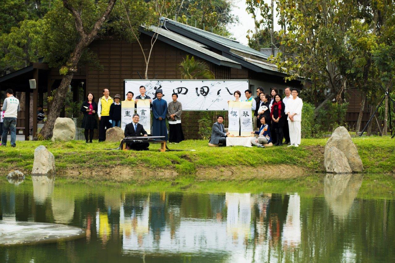 西拉雅國家風景區管理處將八田與一紀念園區活化,以日本兼六園為藍圖打造台灣珊瑚苑,...