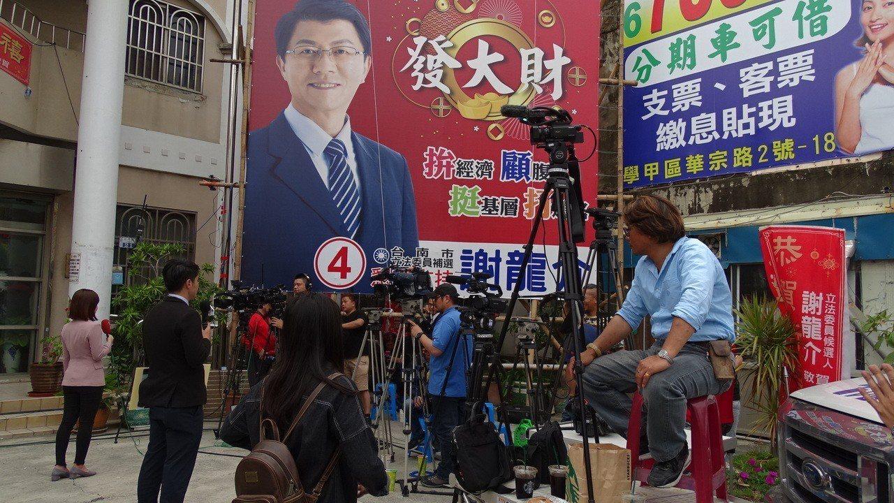 謝龍介佳里計票中心人員陸續進駐。記者謝進盛/攝影