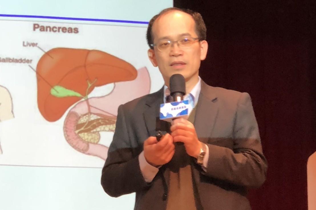 中國附醫血液腫瘤科主任白禮源。記者羅真/攝影