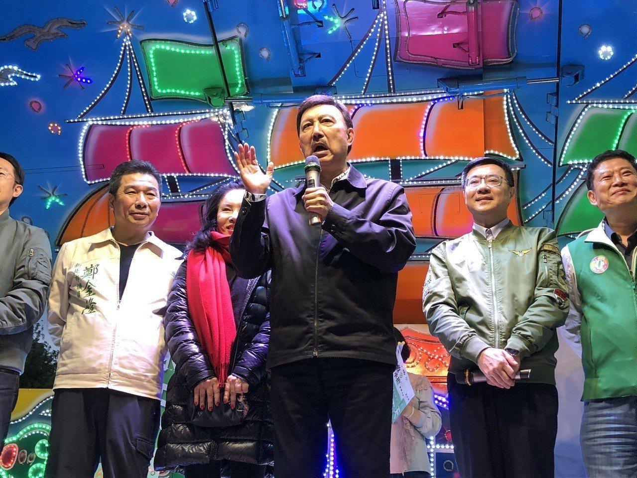 民進黨新北市三重立委補選候選人余天當選。記者王敏旭/攝影