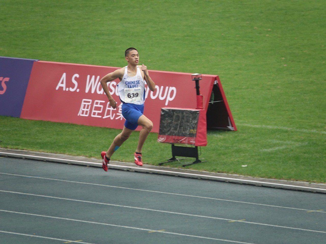 杜昌煥(右)。圖/中華田徑協會提供