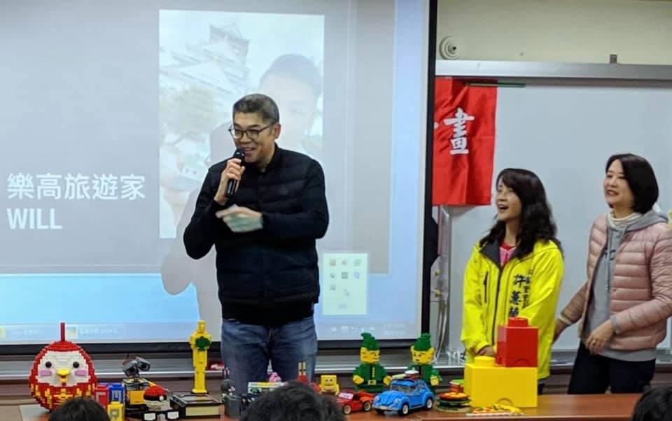 國民黨中央委員連勝文(左)稍早在臉書PO文,宣布由他擔任董事長的青年發展基金會所...