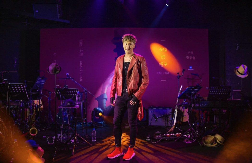 關喆16日舉辦生日音樂會。圖/華納音樂提供