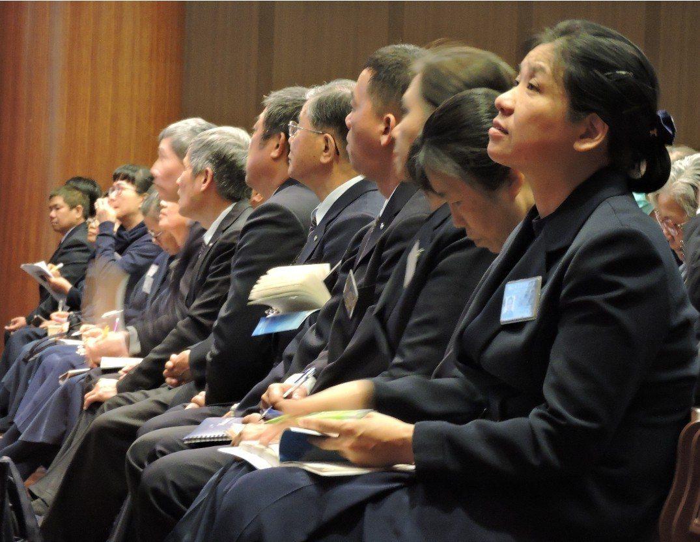 慈濟舉辦骨髓關懷小組國際認證基礎教育訓練課程。圖/慈濟基金會提供